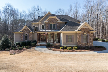 Canton GA Home On Free Home Road